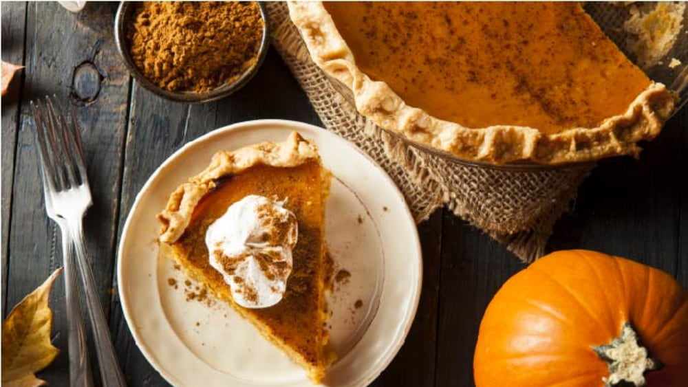 Image ofPumpkin Pie From Scratch