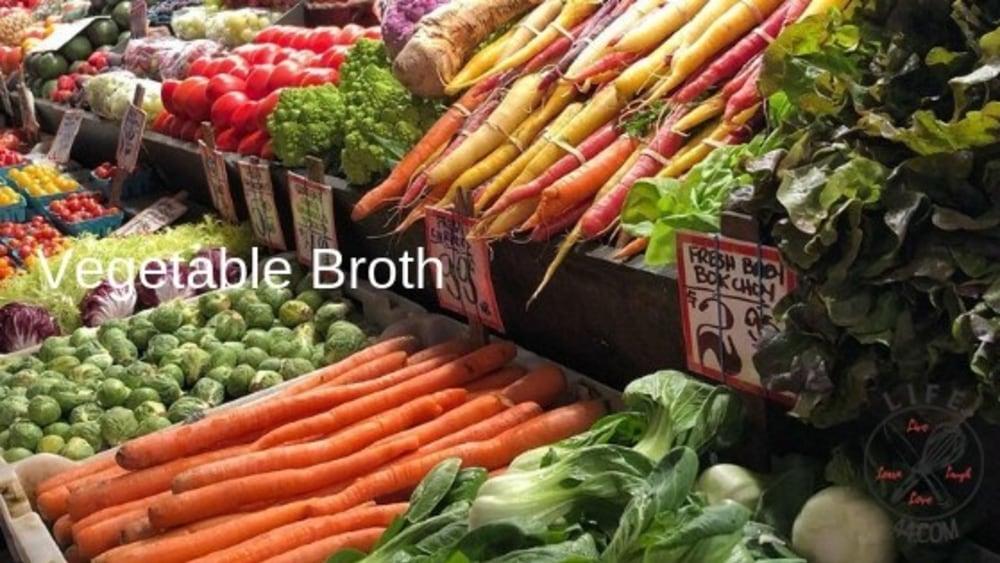 Image ofHomemade Vegetable Broth