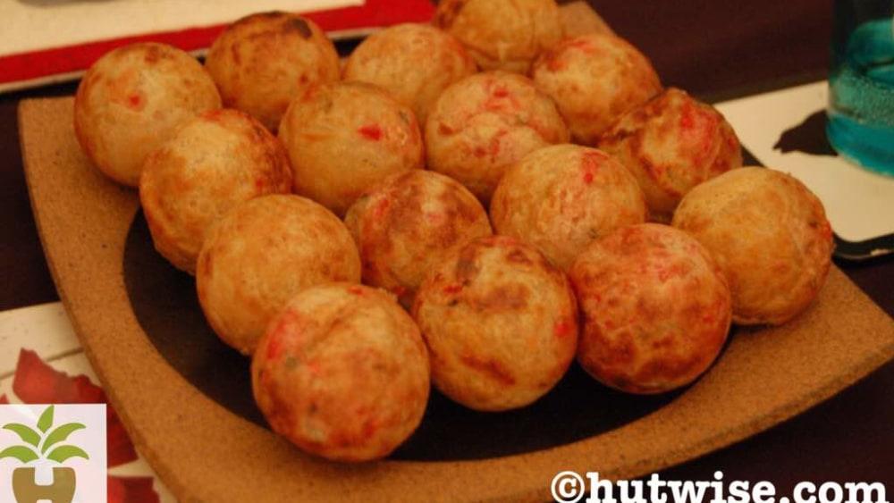 Image of Yam balls