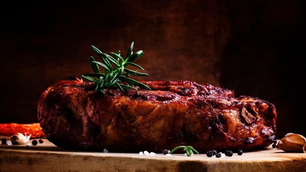 Image of Crispy and succulent cider roasted pork shoulder