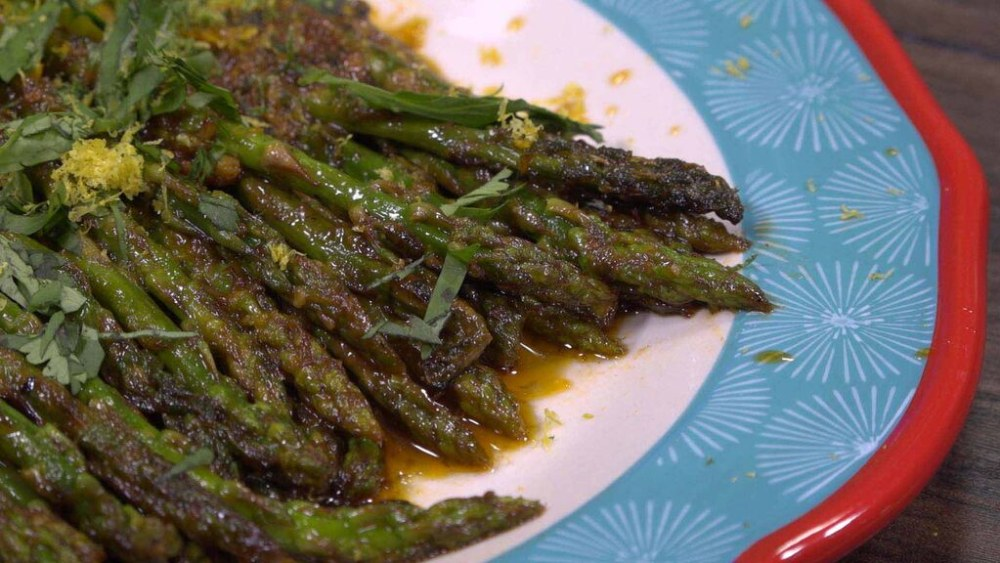 Image of Harissa Butter Asparagus