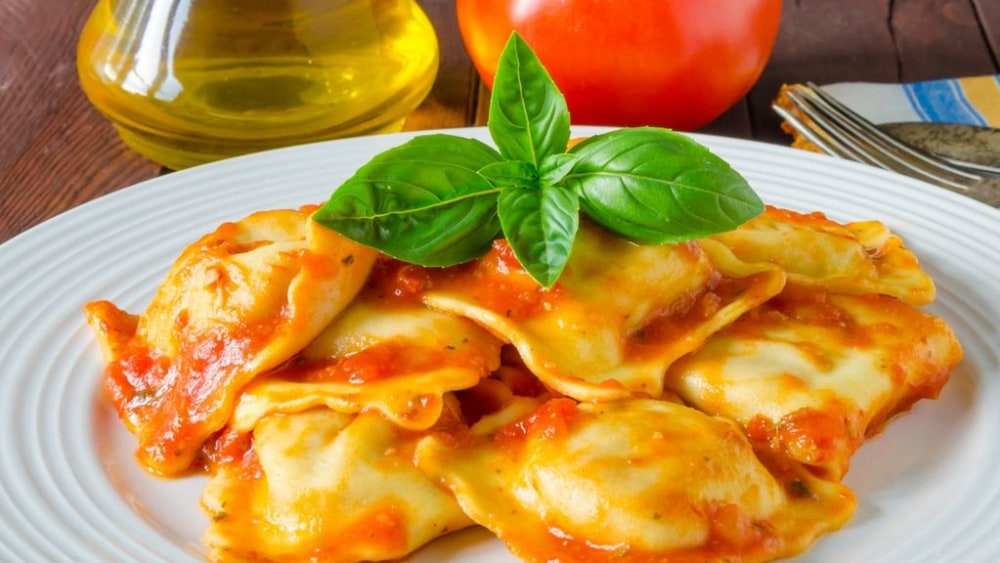Image of I'm Baked – Homemade Ravioli With Get Whacked Ala Vodka Sauce