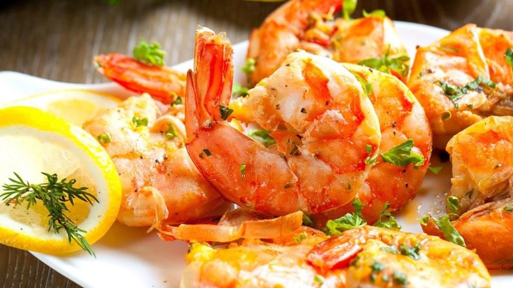 Image of Langostino (or Shrimp) Scampi