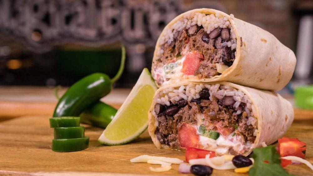 Image of Barbacoa Mega Burrito