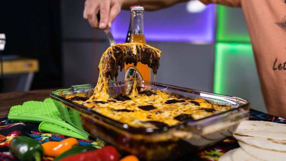 Image of Shredded Steak Enchiladas