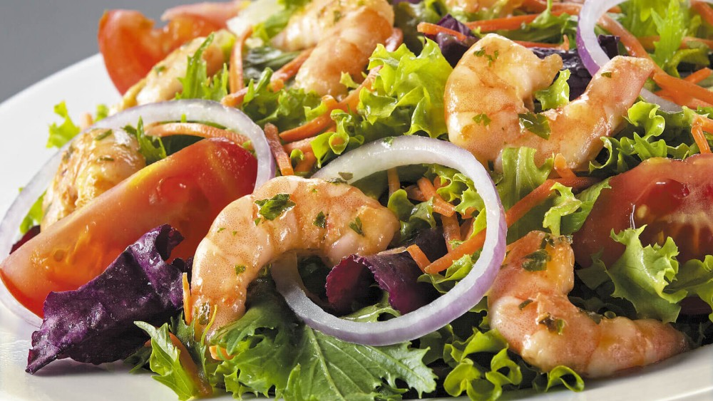 Image of Shrimp Salad with Magical Italian Dressing