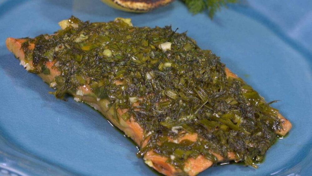 Image of Fresh Herbed Salmon