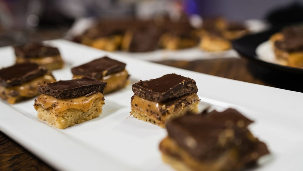 Image of Chocolate Candy Bar Squares