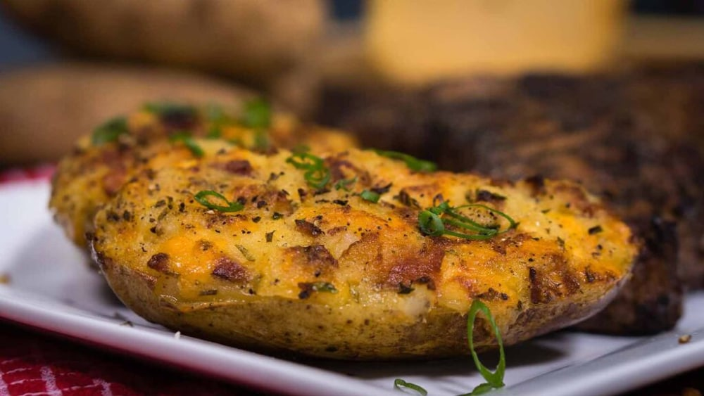 Image of Overloaded Twice-Baked Baked Potatoes