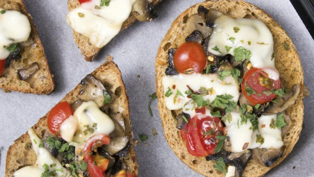 Image of Mushroom Bruschetta