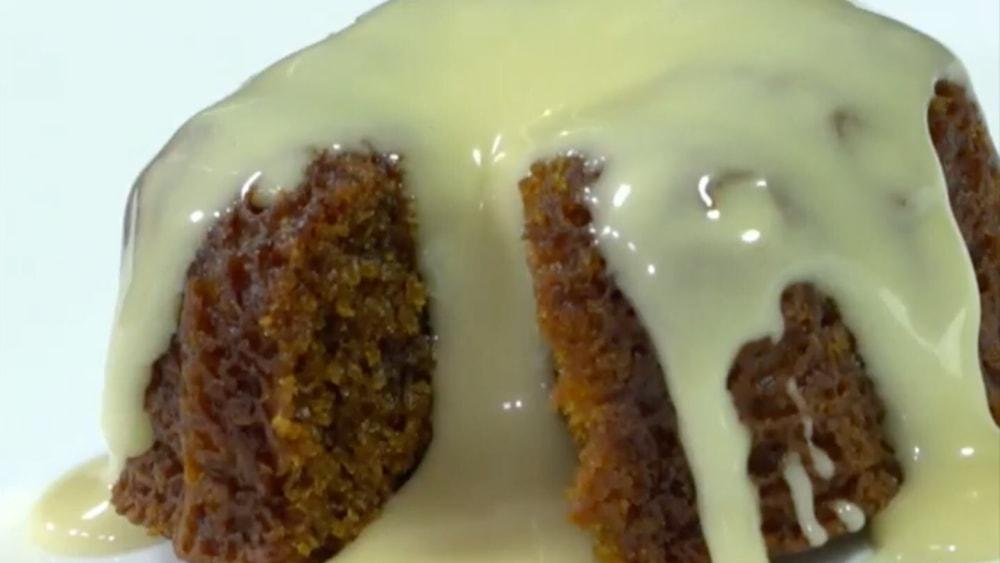 Image of Black and Tan Cake with Irish Cream Glaze