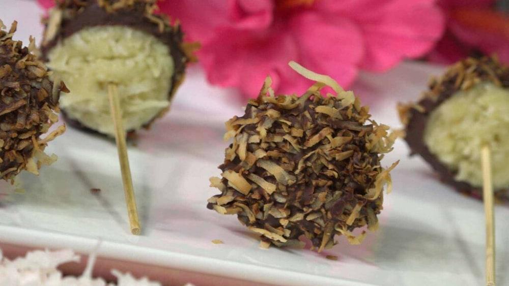 Image of Coconut Samoa Bites