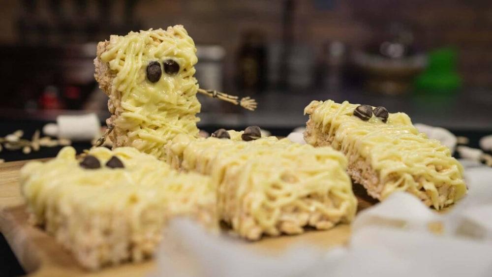 Image of Rice Krispie Mummies