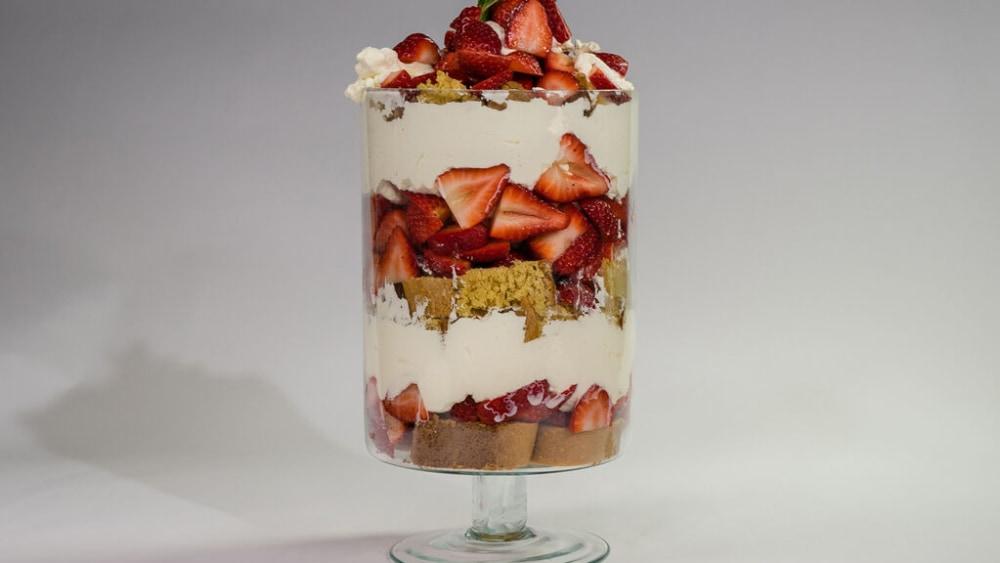 Image of Strawberry Shortcake Trifle