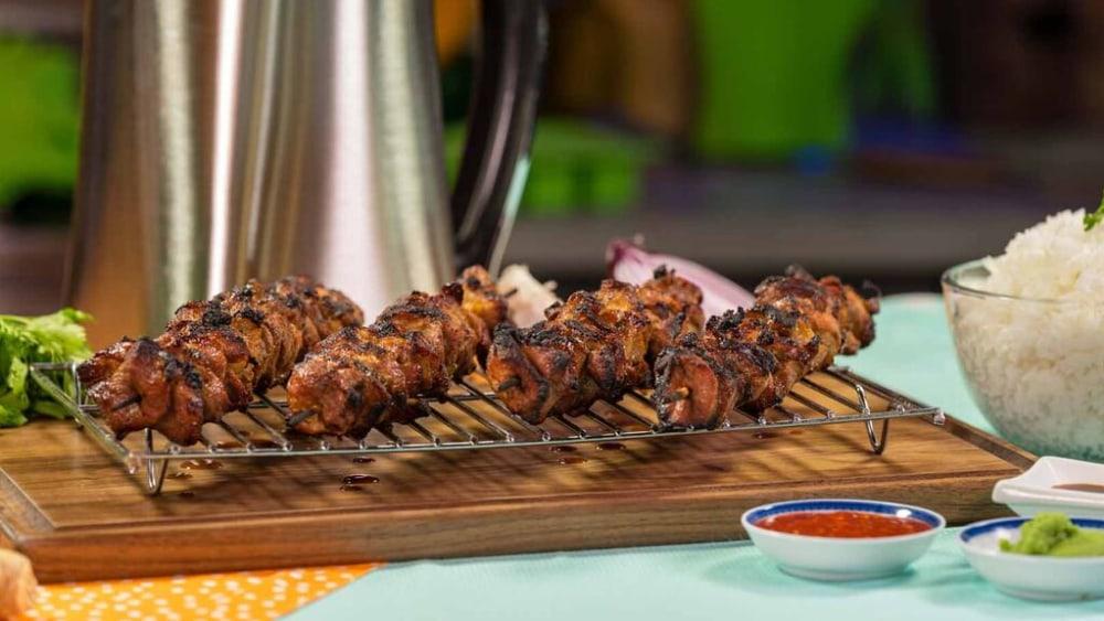 Image of Spicy Pork Skewers