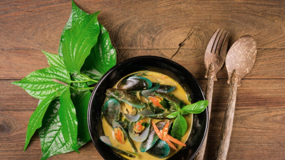Image of Coconut Curry Mussels