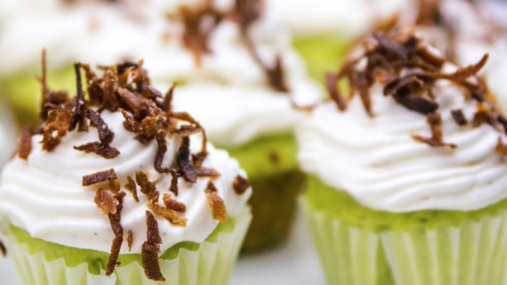 Image of Key Lime in da Coconut Cupcakes
