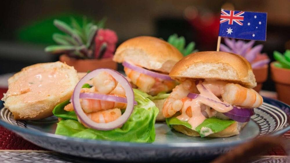 Image of Prawn Burger