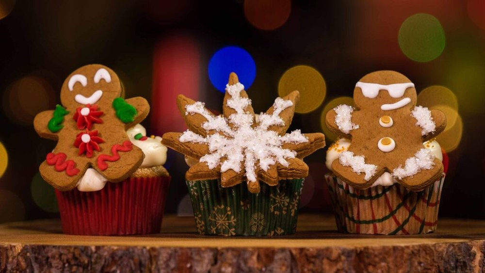 Image of Gingerbread Cookies and Cupcakes