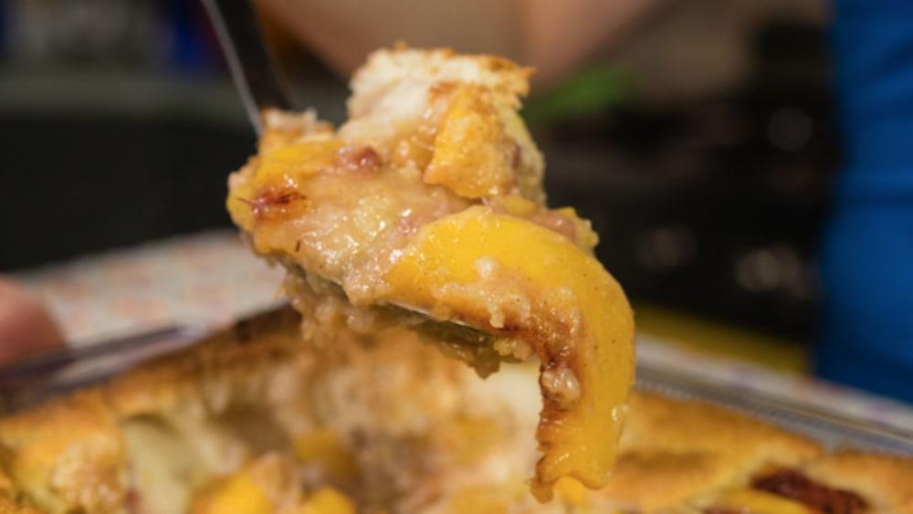 Image of Gluten-Free Peach Cobbler