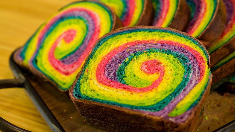 Image of Rainbow Bread