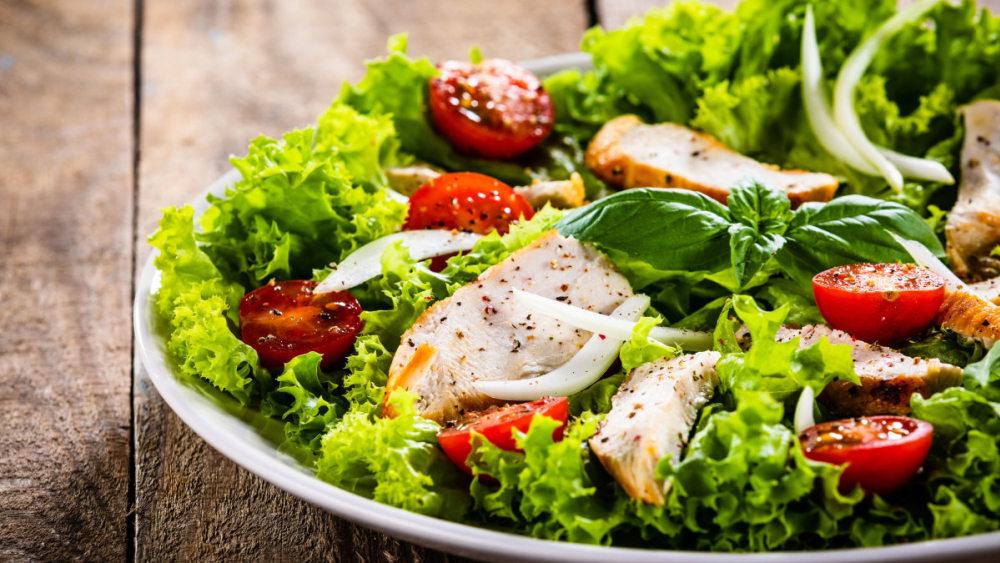 Image of Grapefruit & Basil Salad