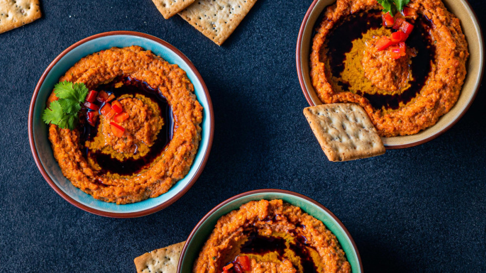 Image of Muhammara / Roasted Red Pepper Dip