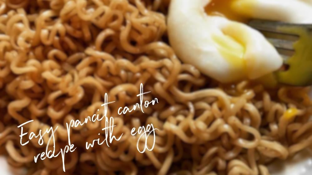 Image of Easy Pancit Canton with Egg