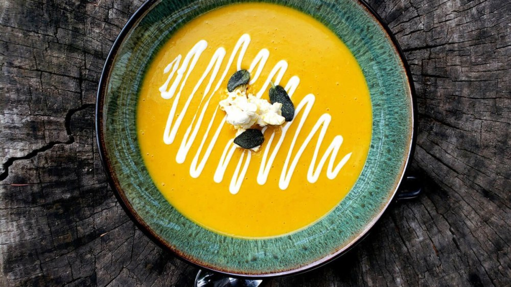 Image of Golden Autumn Squash Soup