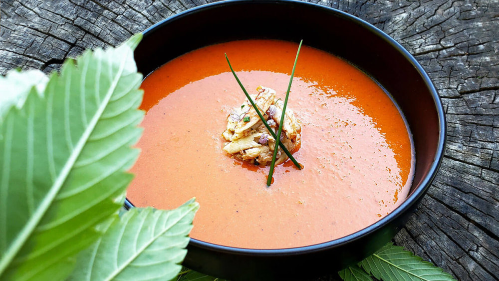 Image of Crab and Cordyceps Soup