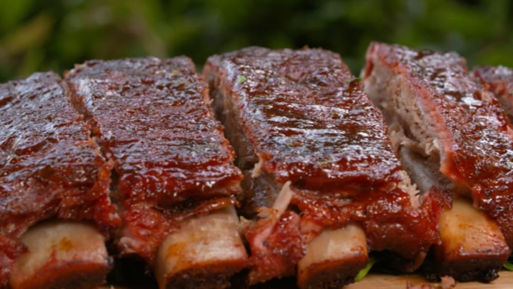 Image ofSmoked Barbecue Pork Ribs