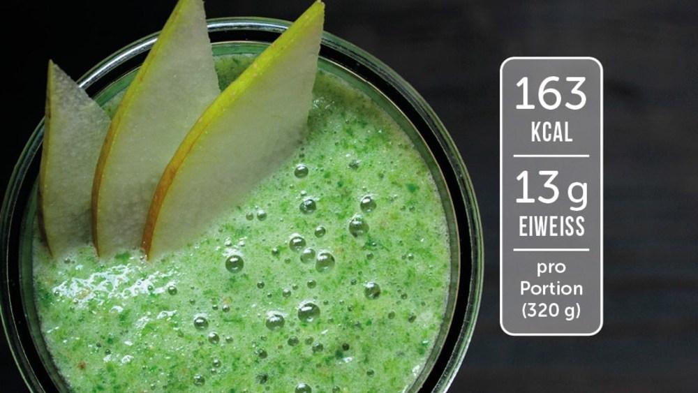 Image of Eiweiß-Shake mit Banane und Birne