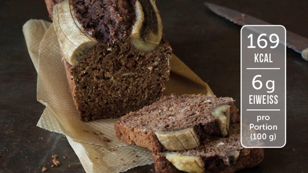 Image of Bananenbrot mit Schokolade