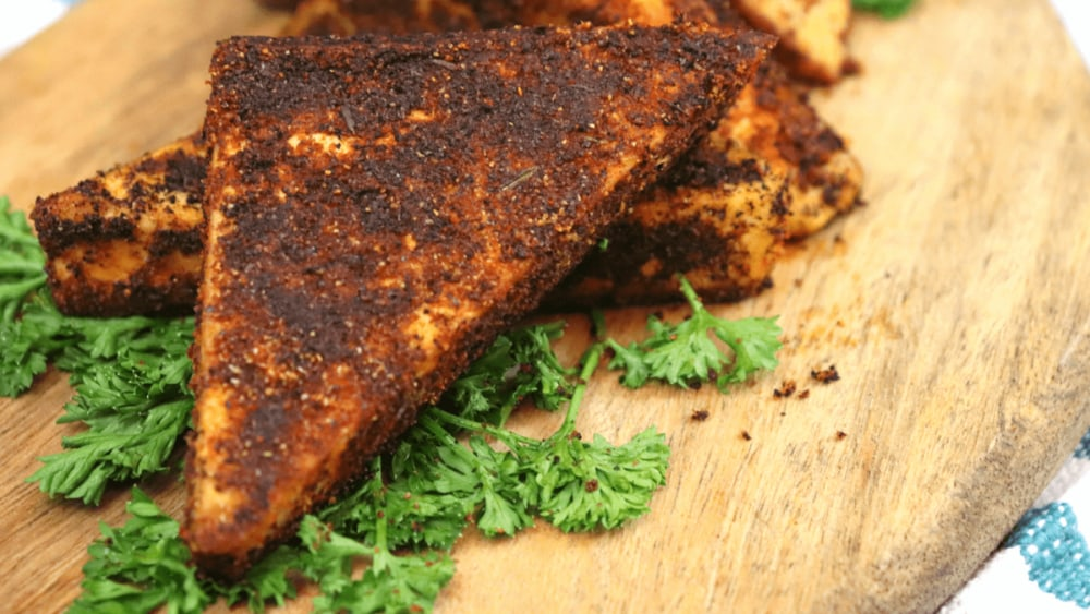 Image of Blackened Tofu