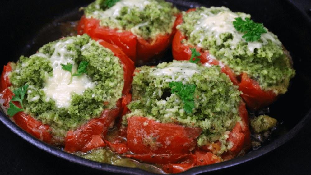 Image of Italian Stuffed Tomatoes