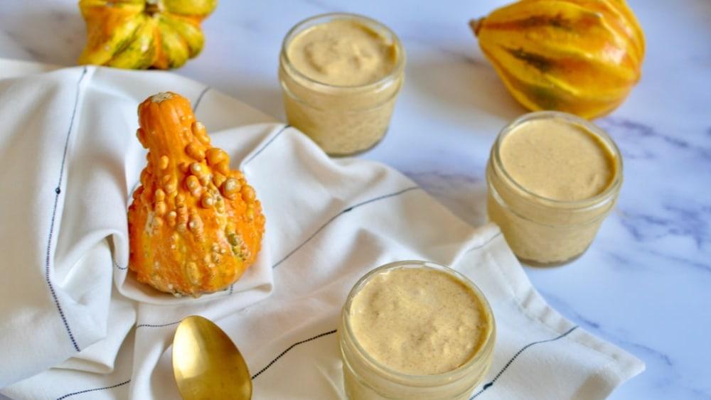 Image ofDairy Free Pumpkin Spice Yogurt