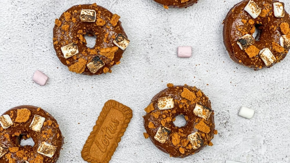 Image ofS'mores Protein Doughnuts