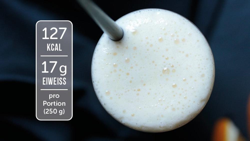 Image of Eiweiß-Shake mit Orange und Quark
