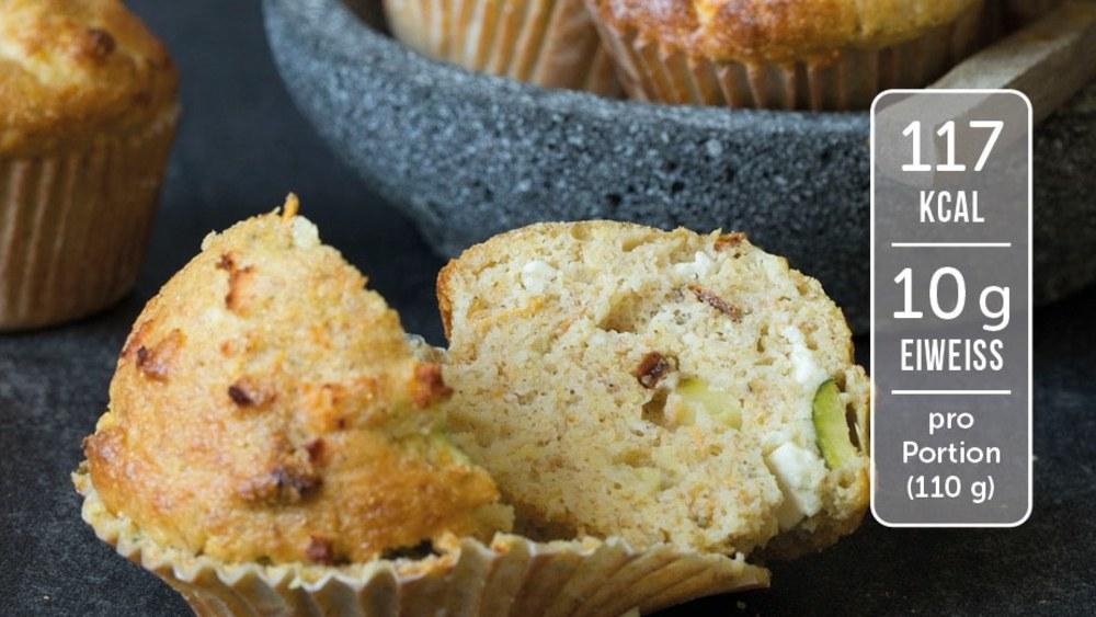 Image of Herzhafte Muffins mit Feta