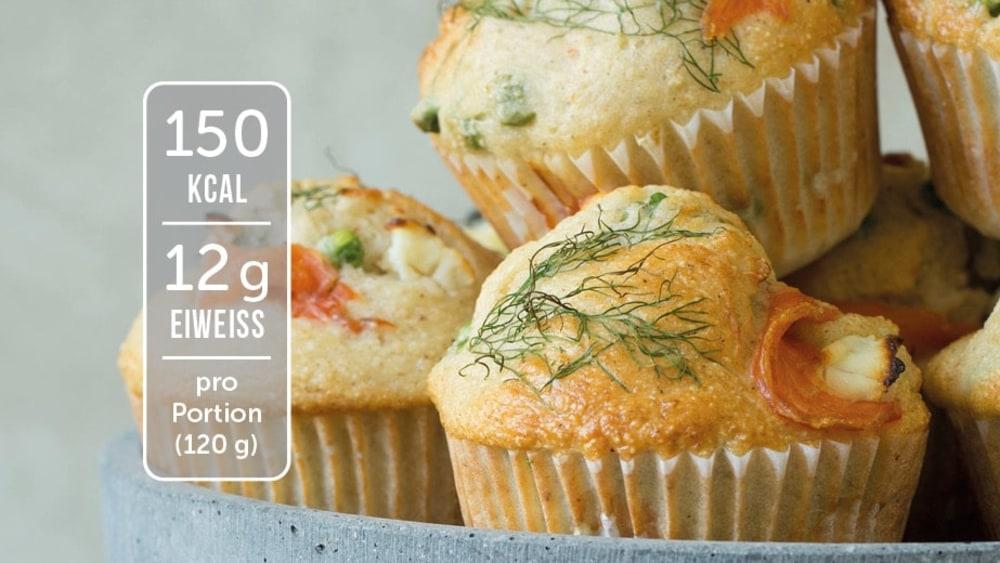 Image of Herzhafte Muffins mit Lachs