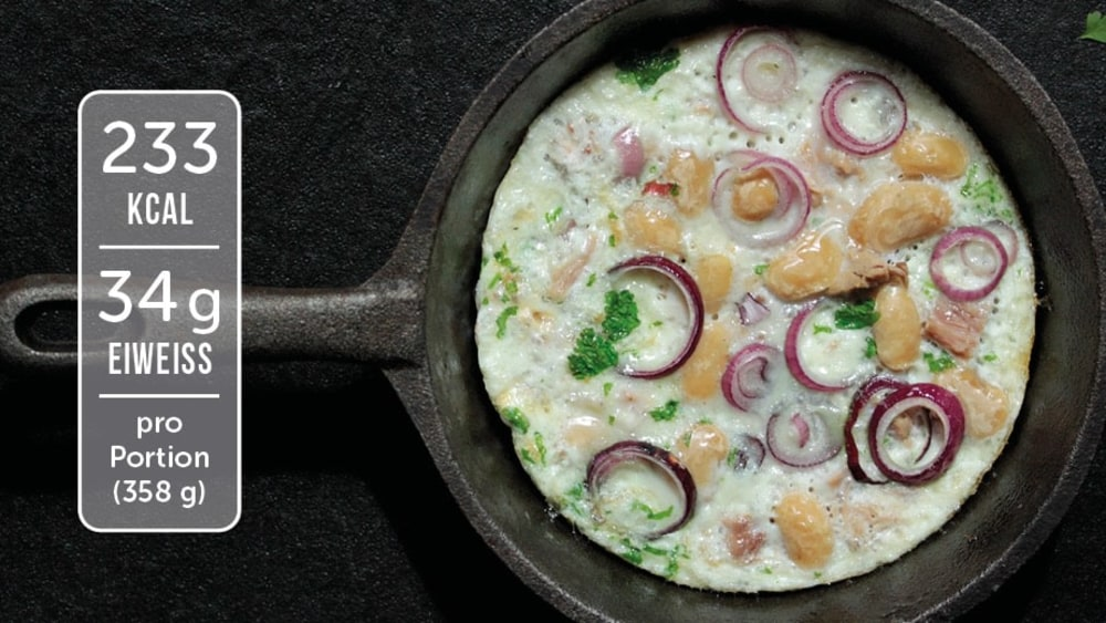 Image of Low Carb Omelette mit Thunfisch