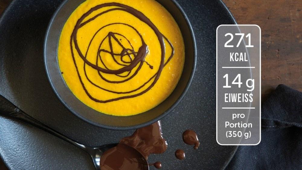 Image of Möhren-Suppe mit Schokolade