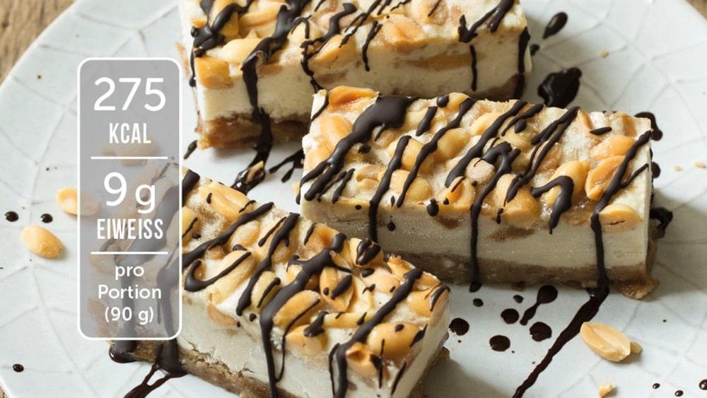 Image of Selbstgemachte Eisriegel mit Mandeln