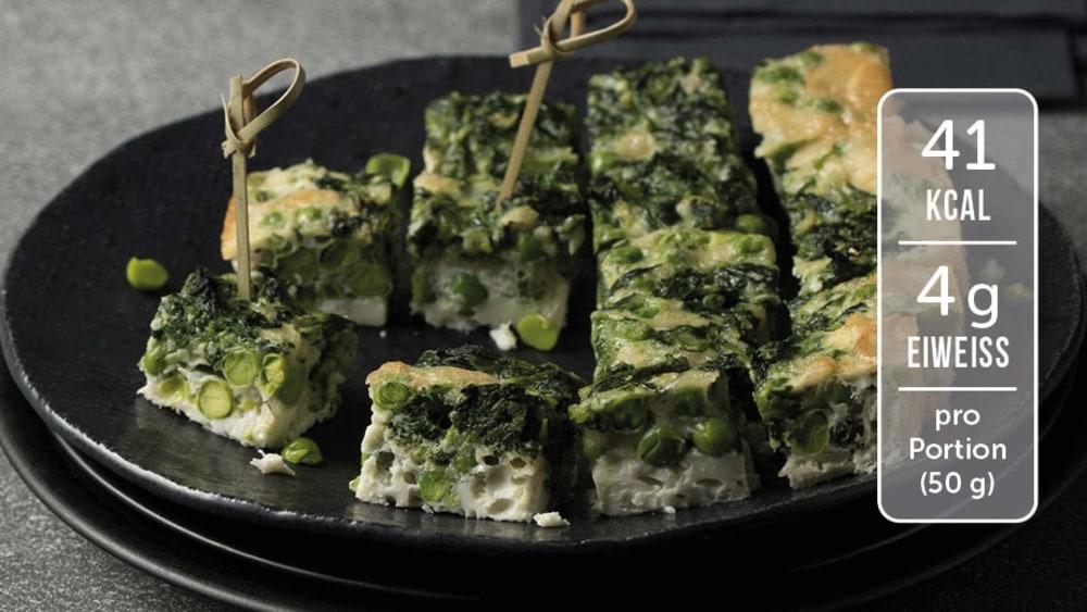 Image of Spinat-Frittata für Gäste