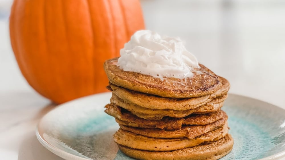 Image of Pumpkin Spice Plant Protein Pancakes