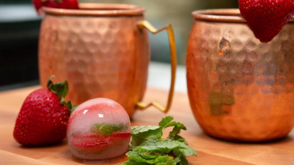 Image ofMint Strawberry Mule