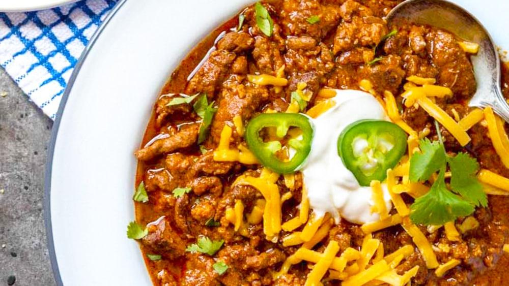 Image ofExtra Spicy Chili Con Carne Recipe | Elijah's Xtreme
