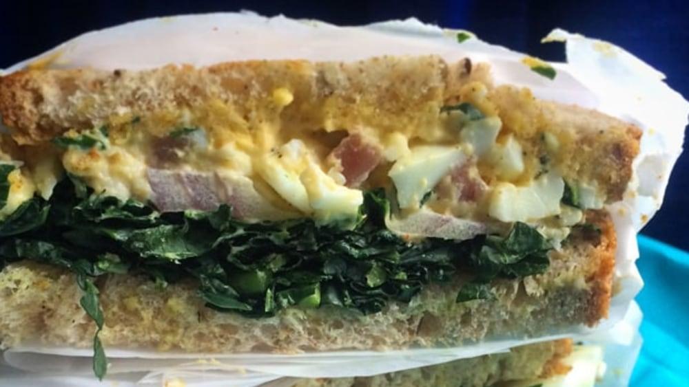 Image ofProsciutto Egg Salad Sandwich