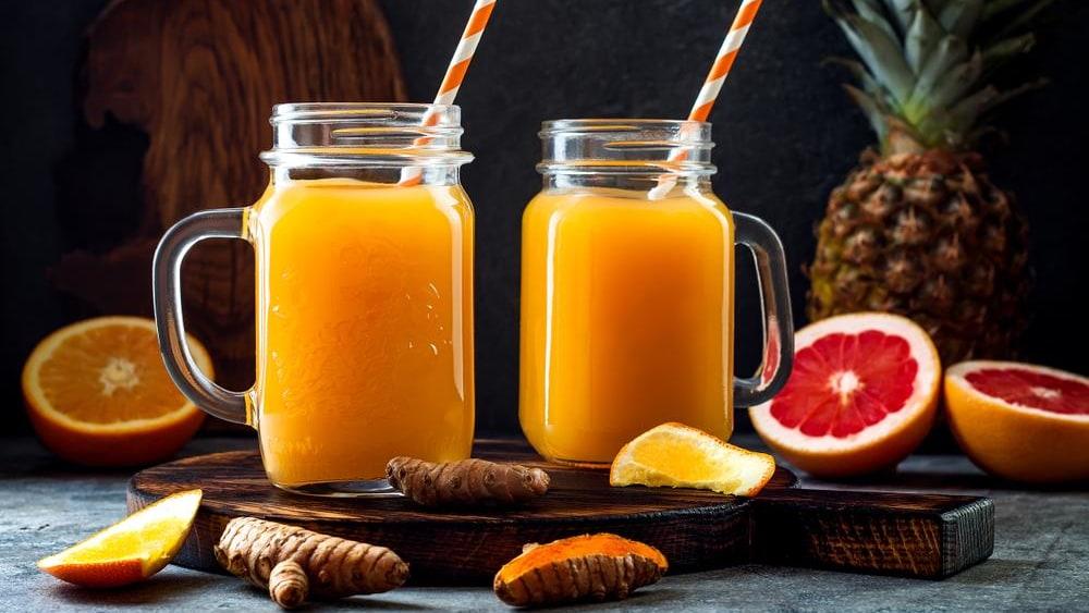Image of A Healthy Ginger, Lemon & Turmeric Shot Recipe