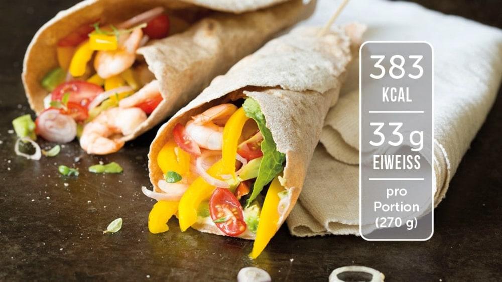 Image of Scampi-Avocado-Wrap